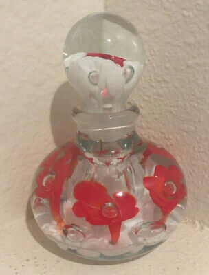 Pottery & Glass Art Glass St Clair Paper Weight Martha Washington Glass 1972