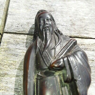 Antique Chinese Wooden Carved Figurine/Statue