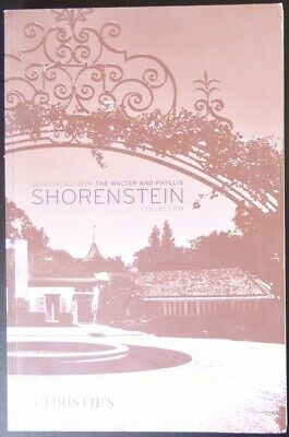 Christie's Selections From The Walter and Phyllis Shorenstein Collection Chinese