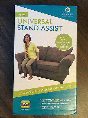 NIB Able Life Universal Stand Assist Adjustable Mobility Aid Couch Chair Rail