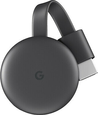 New Google - GA00439 - Chromecast 3rd Generation - 2018