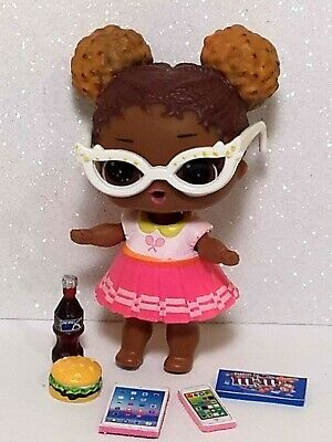 Lol Surprise Doll Accessories Custom Food Drink Glasses Phone Tablet 6 PC  Lot
