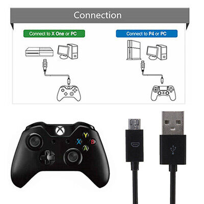 3M 10ft Micro USB Charging Power Cable for PS4 Xbox One Wireless Controller  vfd