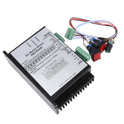 20-110V 2000W Brushed DC Motor Speed Controller Board PWM PLC Governor