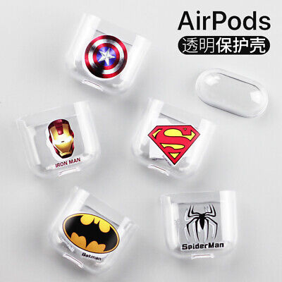 AirPods Case Protective Silicone Skin Holder Bag for Marvel AirPod Accessories