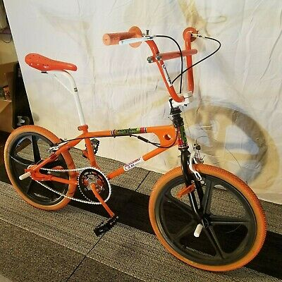 1981 MOTOMAG MONGOOSE Vintage BMX Fully Restored + NOS Parts Freestyle  OldSchool