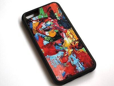 For iPhone XS Max epro by Leroy Neiman (Rocky vs Apollo) Case Cover #10128