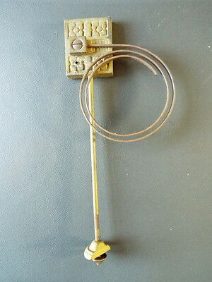 Vintage clock chime gong with metal coil and fixing bolt spares parts
