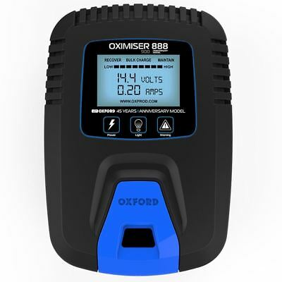 Oxford Oximiser 900 Motorcycle Battery Charger Trickle Motorbike Chargers New