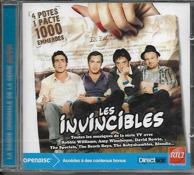 Cd Les Invincibles Serie Tv 19T Beach Boys/Bowie/Hardy/Winehouse/Blondie Neuf