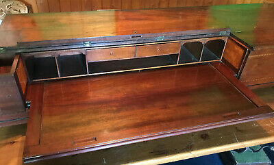 c1800 Georgius Fredericus Schoene Square Piano converted into Secretaire Desk
