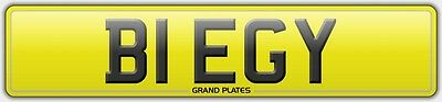 B1 Egy Beggy Private Cherished Registration Number Plate Beg Assigned Free