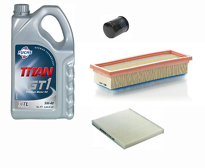SERVICE KIT for FORD KA 1.2 PETROL OIL AIR CABIN FILTERS B420 2008-2016