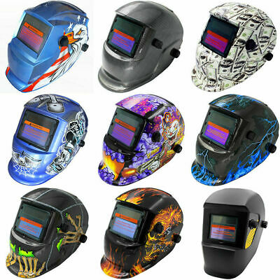 2019 New Solar Auto Darkening Welding Helmet Mask ARC TIG MIG High Quality AU