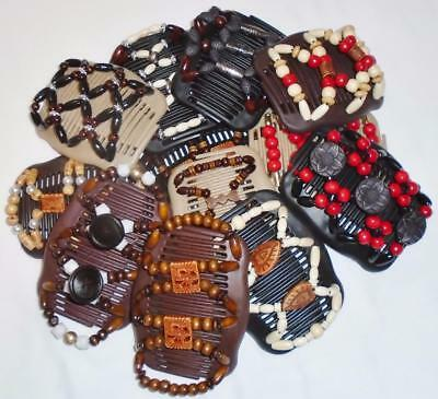 """Double Magic Angel Wings Hair Clips 4x3.5/"""" US SELLER African Butterfly S13"""