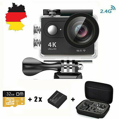 Sport Aktion Kamera Action Cam Camera 4K WiFi mit 2.4G Fernbedienung Sports Cam