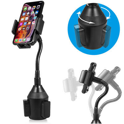 Universal Adjustable Weather-Tech5 CupFone Holder Car Mount for Cell Phone Black