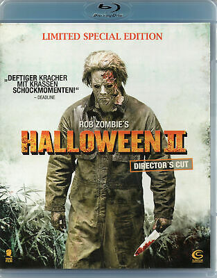 Halloween II 2 - Rob Zombie -Blu Ray - Brand New