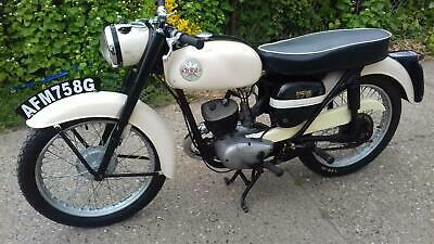 Bsa Bantam Super 175C 1968 Classic Motorcycle