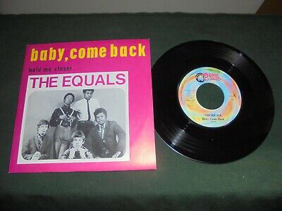 "The Equals ‎""Baby, Come Back / Hold Me Closer"" 7"" PEACE&LOVE ITA 1999"