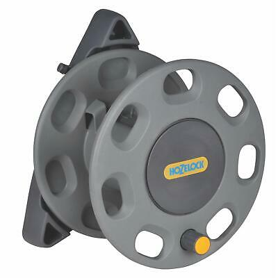 Hozelock 30m Wall Mounted Reel Compact Rewind (no Hose) with Garden Hose Guide