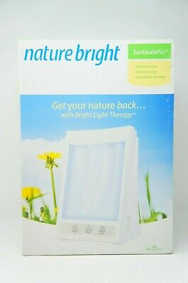 Nature Bright SunTouch Plus Light and Ion Therapy NEW W/O MANUAL