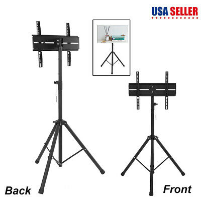"""26"""" to 50"""" LED/PLASMA/LCD TV STAND MOUNT BRACKET Portable Foldable Stand US"""