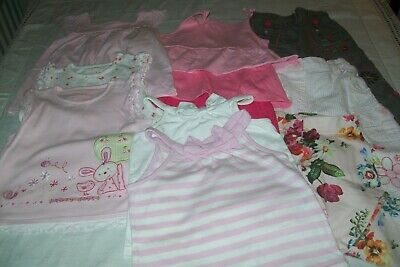 Baby girl clothes Mothercare/H&M/TU bundle 9-12m -combined postage available