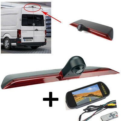 Volkswagen VW Crafter Van Reversing Reverse Camera and Mirror Monitor 2017 2018