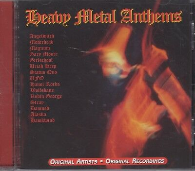 "Heavy Metal Anthems ""Various Artists"" NEW CD 15 Original Recordings"