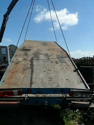 Eurocargo 7.5 Ton Recovery Body With Ramps I Can Load Or Delivery Is Available