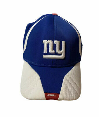 quality design dc737 79de6 NFL New York Giants Football Youth Sz Flex Fit Reebok On field Hat Cap Blue  EUC