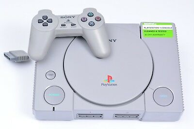 Sony PlayStation 1 PS1 System Console Complete - Tested, Working & Warranty