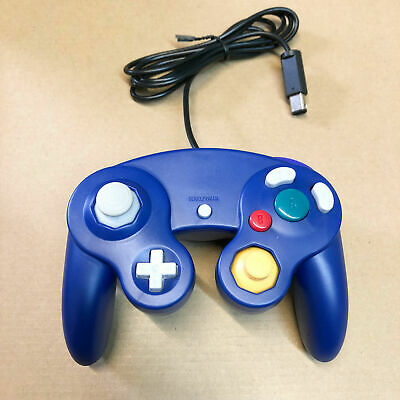 Nintendo GameCube Controller Remote for GC & Wii Blue New - Ships With Tracking