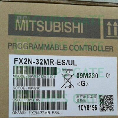 1PCS NEW IN BOX Mitsubishi PLC FX2N-32MT-ES/UL FX2N32MTES/UL Fast Ship