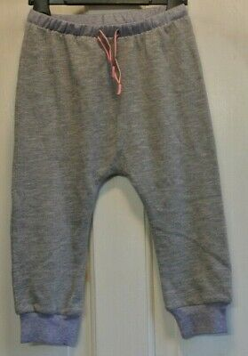 New Next girls Joggers Blue/Grey age 12-18 months