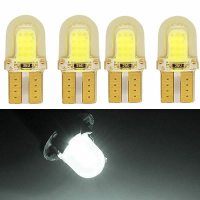 4 x  T10 W5W 501 COB Bulb 8 SMD LED Car Lights Wedge Interior Lights Sidelight