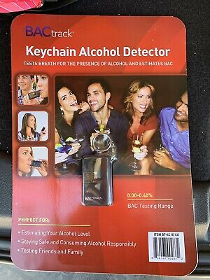 BACtrack Keychain Alcohol Detector (New in Package) Breathalyzer