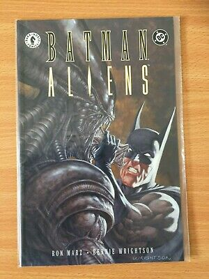 Batman Aliens Book Two Ron Marz Bernie Wrightson DC Comics