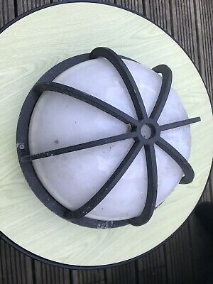 Industrial Look Bulkhead Style Light Wall Ceiling Cover Round Nautical Pub