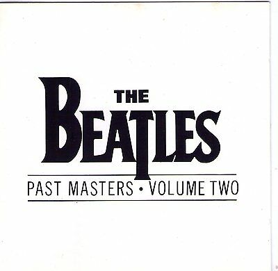 Cd 15T The Beatles Past Masters Volume Two De 1988 Tbe