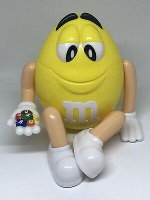 M & M Sweet Container, Yellow