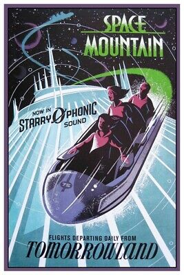 Space Mountain Starry-O-Phonic - Collector Poster 4 Sizes  ( B2G1 Free!! )