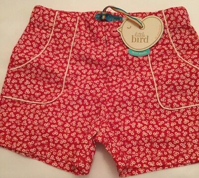 Little Bird By Jools Oliver Girls Floral Shorts Age 18-24 Mths Bnwt
