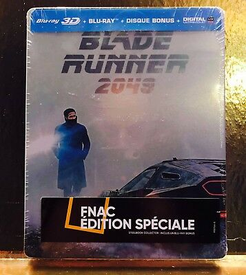 STEELBOOK Blu-ray Blade Runner 2049  [ Limited Fnac  ]