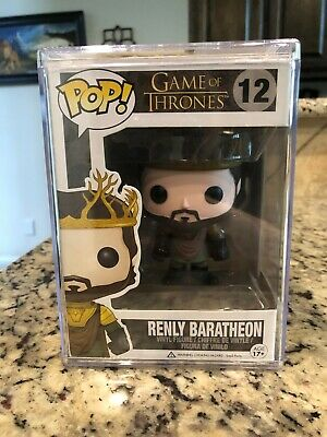 Funko Pop! Game of Thrones Renly Baratheon #12 Retired/Vaulted NIB RARE