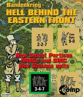 Critical Hit ASL Bandenkrieg - Hell Behind the Eastern Front Zip MINT