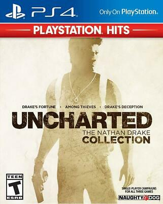 Uncharted: Nathan Drake Collection Hits - Sony PlayStation 4
