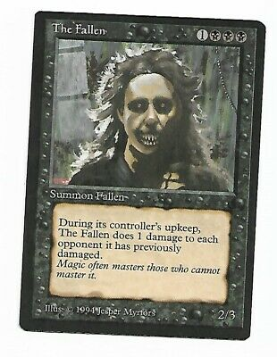 Magic The Gathering ~ 1x The Fallen ~ The Dark ~ M/NM