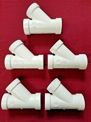 "Spears P600-020 Pvc Dwv 2"" Drain Waste & Vent Fittings - Quantity Of 5"
